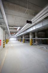 Multistation underground garage