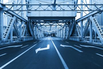 The landmark bridge in Tianjin, China - Jiefang Bridge