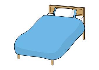 ベッド(ブルー)