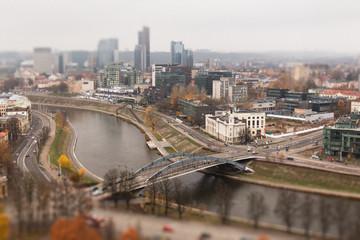 Vilnius six tilt shift