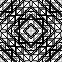 Design seamless monochrome grating pattern
