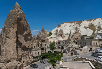Goreme, Turkey - A Unesco World Heritage site, Cappadocia is famous for its fairy chimneys, churches and castles carved in the rock, and a unique heritage
