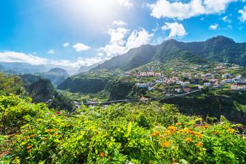 Wall Mural - View of Faial village, Madeira island, Portugal