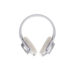 White headphone isolated on white background