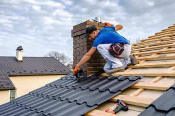 a professional master covers the roof