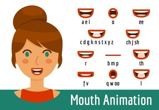 Mouth Lip Sync set