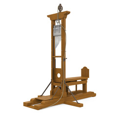 Guillotine Isolated