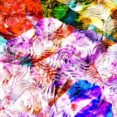 Colorful abstract art design