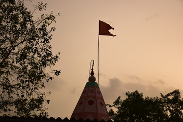 Traditional Indian temple top