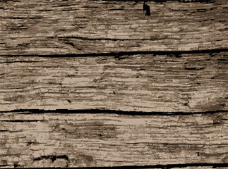 Old Wooden Background Wall mural