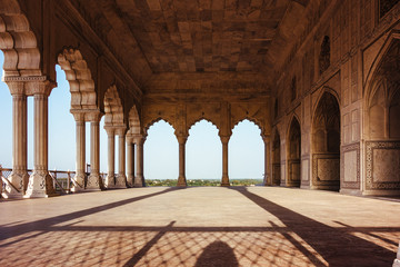 Ancient temple in Agra