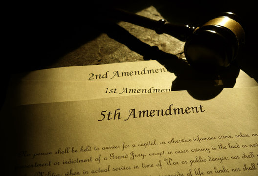 5th 1st and 2nd Constitutional Amendments