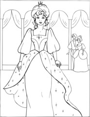 Coloring the Beautiful Princess 11