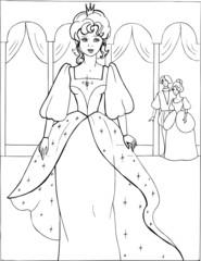 Coloring the Beautiful Princess 11