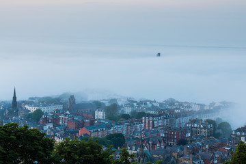 Cloud Inversion over Scarborough