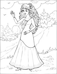 Coloring the Beautiful Princess 29