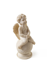 Sitting angel
