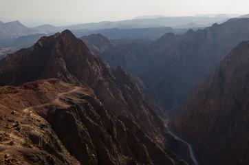 Wandern in der Wüste