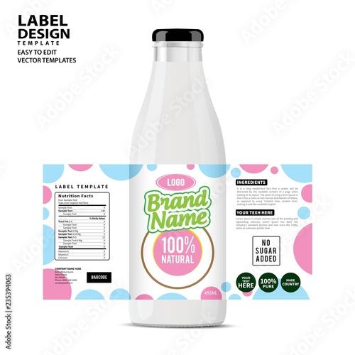 bottle label package template design label design mock up design