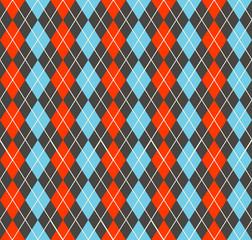 Argyle pattern. Geometric simple background.
