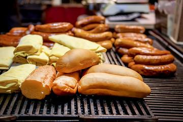 Street food at market