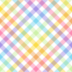 Rainbow, lgbt - seamless watercolor pattern.