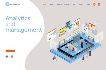 Analytics and management