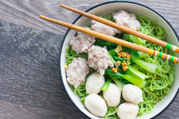 rice noodle in a bowl