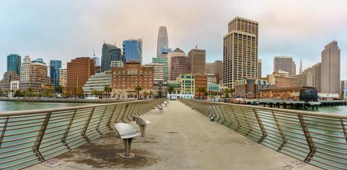 Fotomurales - Cityscape of San Francisco