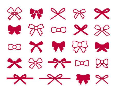 Bow Icon Set