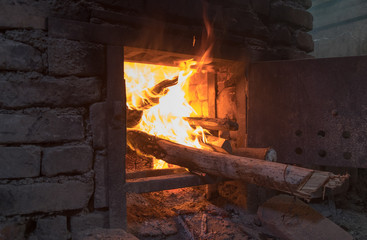 Traditional georgian home oven