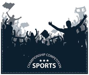 sports crowded fun