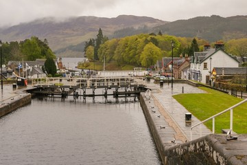 Fort Augustus, Caledonian Canal, Inverness Shire