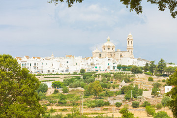 Locorotondo, Apulia - Skyline of Locorotondo from the landside