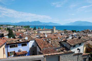 Lake Garda, rooftops