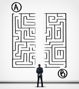 Shortcut for maze