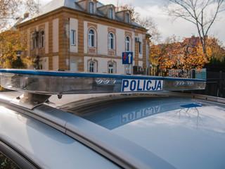 Radiowóz policyjny.
