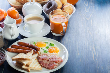 Fresh english breakfast
