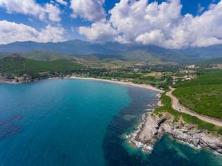 Pietracorbara an der Ostküste des Cap Corse auf Korsika