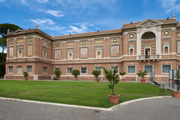 Typical museum building in Italy