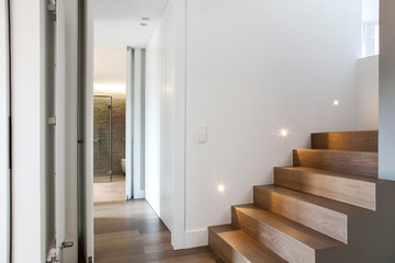 Fototapeta acesso quartos 1º andar obraz