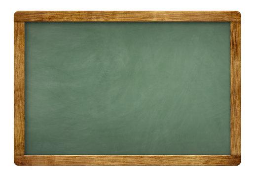 blank green slate blackboard