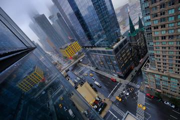 Дождливые улицы нью йорка