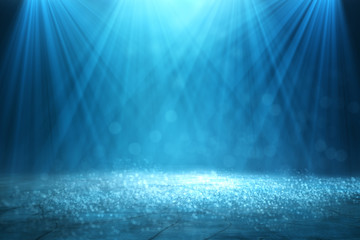 In de dag Licht, schaduw Blurry spotlight backdrop