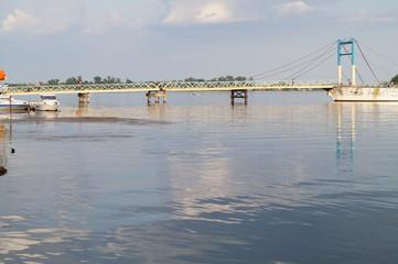 Brücke am Flüss