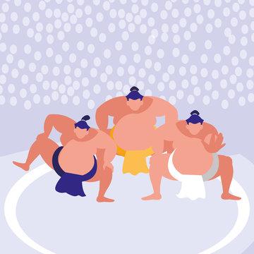 sumo wrestler design