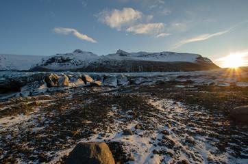 Glacier Iceberg in Iceland