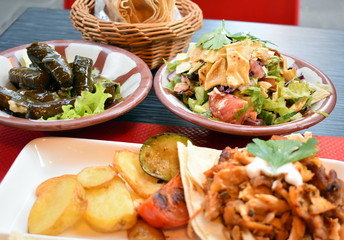 different types of lebanese food