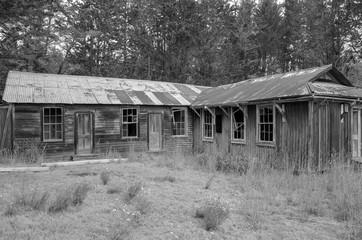 Rusted Buildings on old ranch in Big Island Hawaii