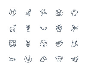 Bat, puppy, Alpaca, Pig, Whale, Fish, Ladybug, Beaver, Tiger, Ll